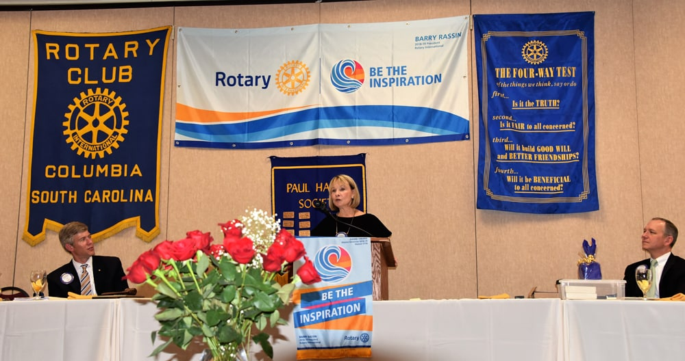 Lousia-Campbell-Columbia-Rotary-President